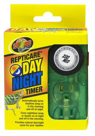 Zoo Med Repti Care Day/Night Timer  2 CONTACTOS( Multicontacto con timer temporizador dia/noche)