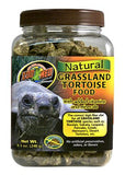 Zoo Med Grassland tortoise food 8.5oz