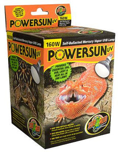 Zoo Med powersun 160 watts (calor, uvb 2 en 1)