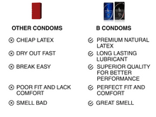 Load image into Gallery viewer, b condoms Platinum XL, 10 Pack