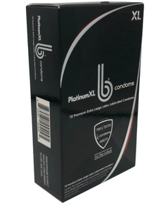 b condoms Platinum XL, 10 Pack