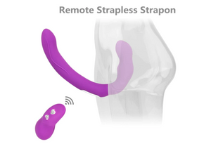 Double Trouble- Strapless Wearable Double Ended Vibrator