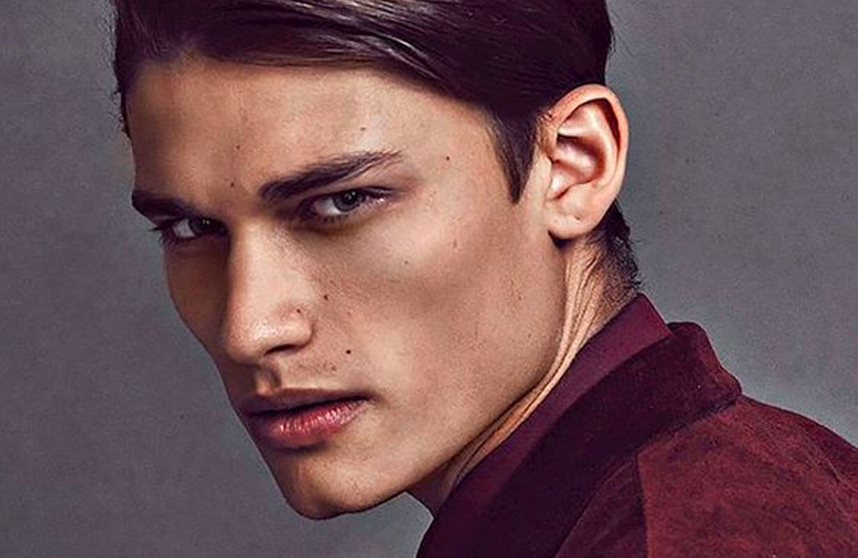 jawline contouring machoire carree homme