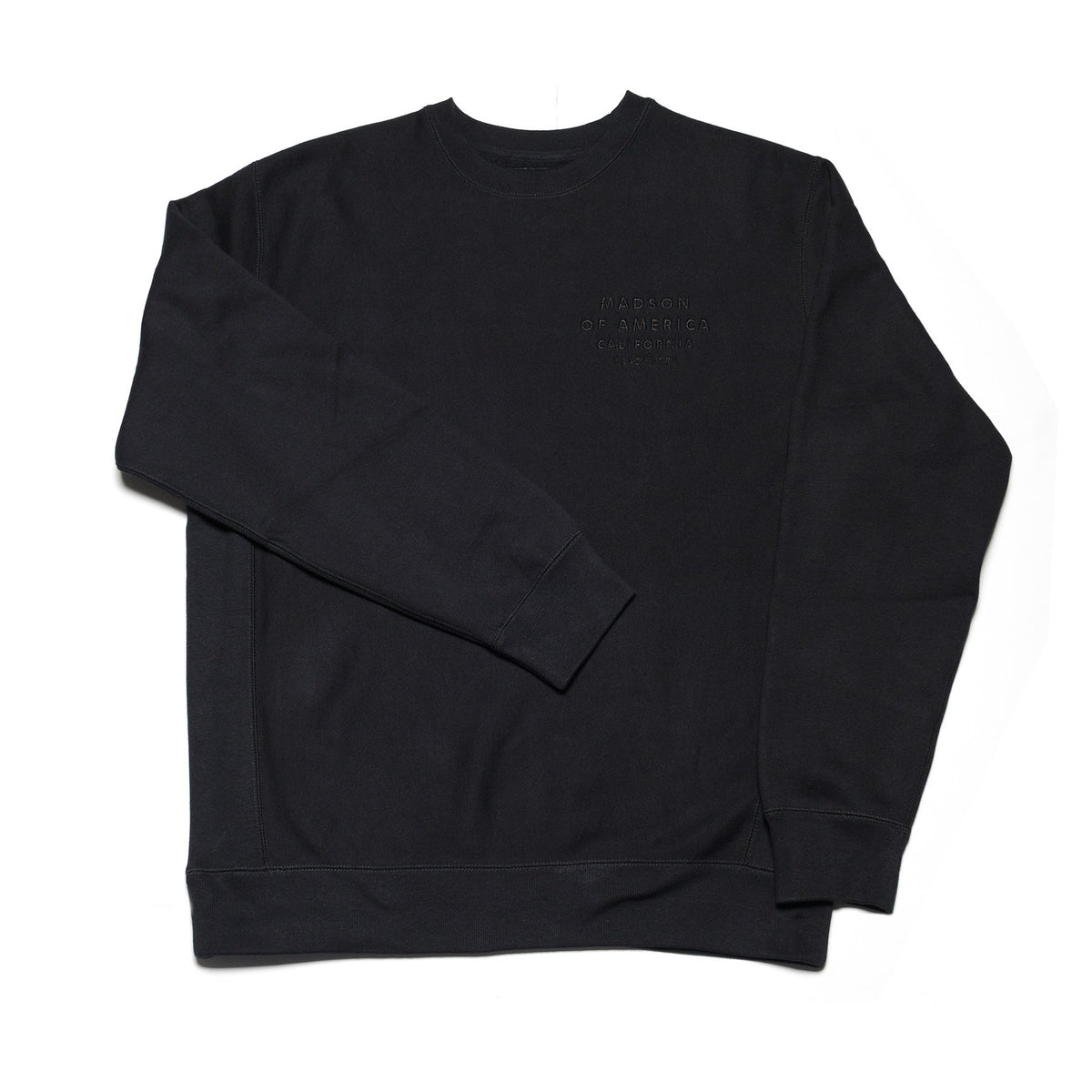 Centered Heavy Weight Crew | Black
