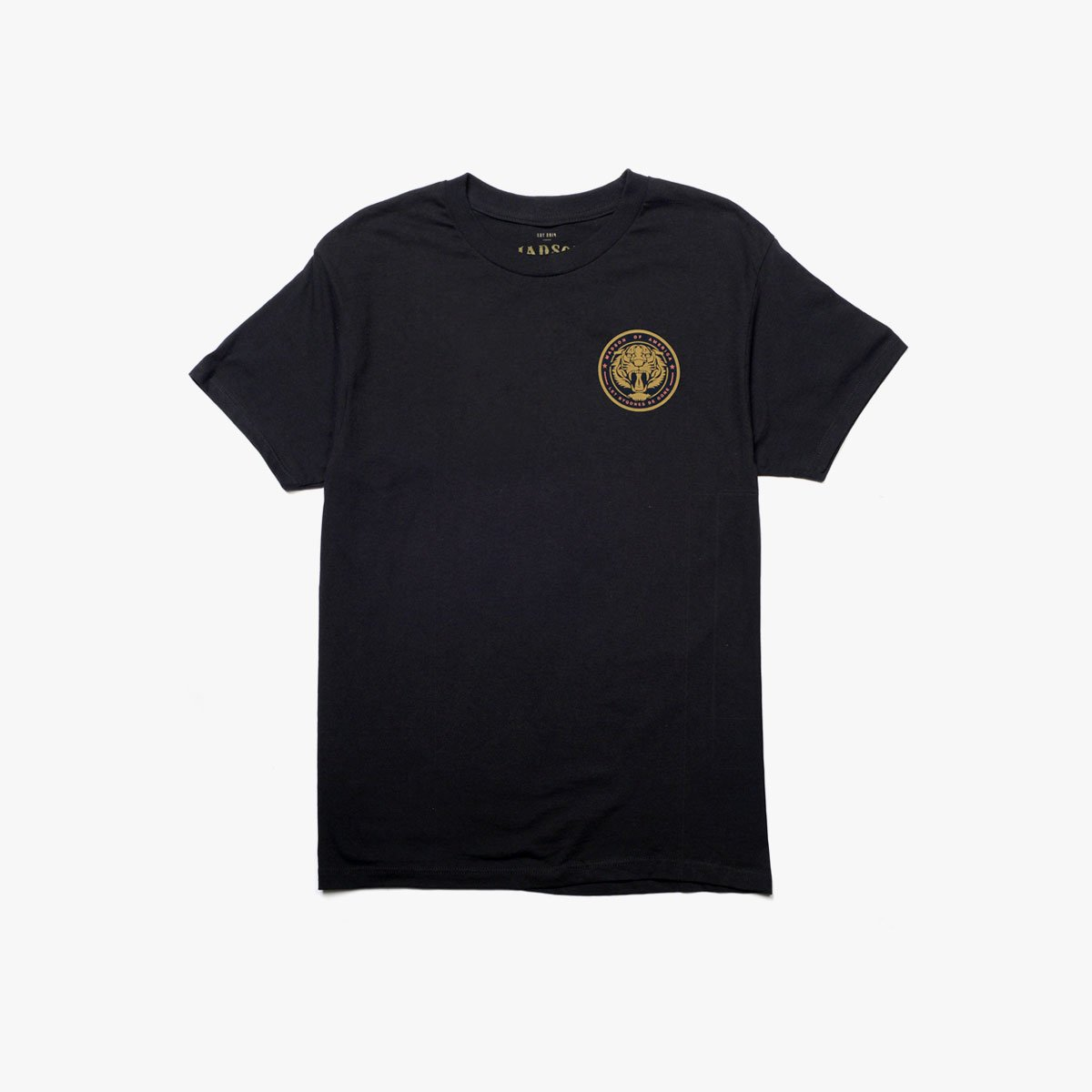 Roaring Tiger Circle | Black