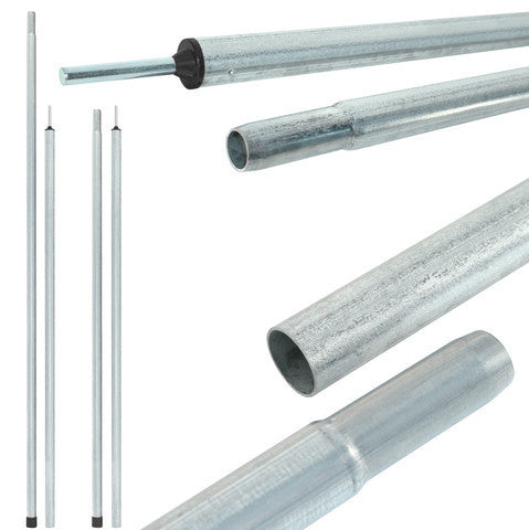 Tent Poles - fixed length galvanised steel  sc 1 st  Poles Apart Direct & Tent pole products Steel u0026 Aluminium Buy Australian Factory ...