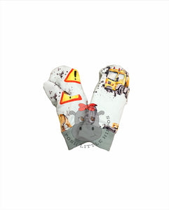 Gloves - construction (size 3-7y)