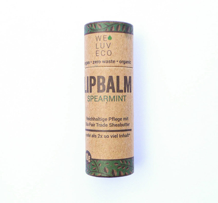Lipbalm spearmint von we luv eco