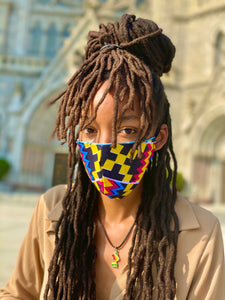 Handmade Ankara Face Mask - BaobabBeauty Collection