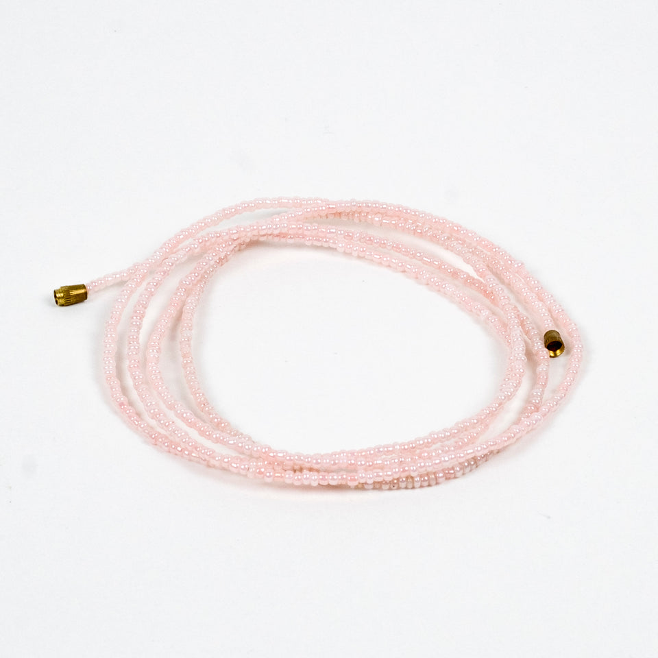 Light Pink! African Waist Beads- African Jewelry, Waist Beads, Belly Chain, Belly Chains - ShopEzeFashionn