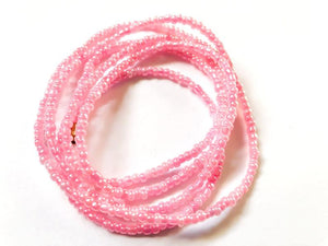 Pink! African Waist Beads- African Jewelry, Waist Beads, Belly Chain, Belly Chains, Belly Beads, Waist Jewelry - ShopEzeFashionn