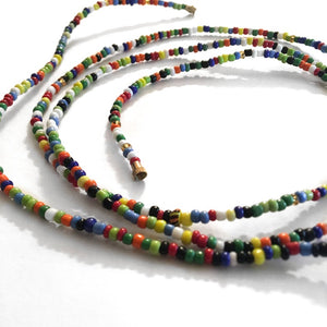 Thick Multi Color! African Waist Beads- African Jewelry, Waist Beads, Belly Chain, Belly Chains - ShopEzeFashionn
