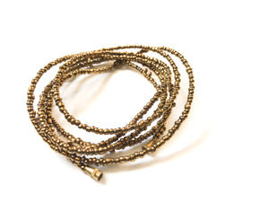 Deep Gold African Waist Beads- African Jewelry, Waist Beads, Belly Chain, Belly Chains, Belly Beads - ShopEzeFashionn