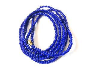 Deep Indigo! African Waist Beads- African Jewelry, Waist Beads, Belly Chain, Belly Chains, Belly Beads - ShopEzeFashionn