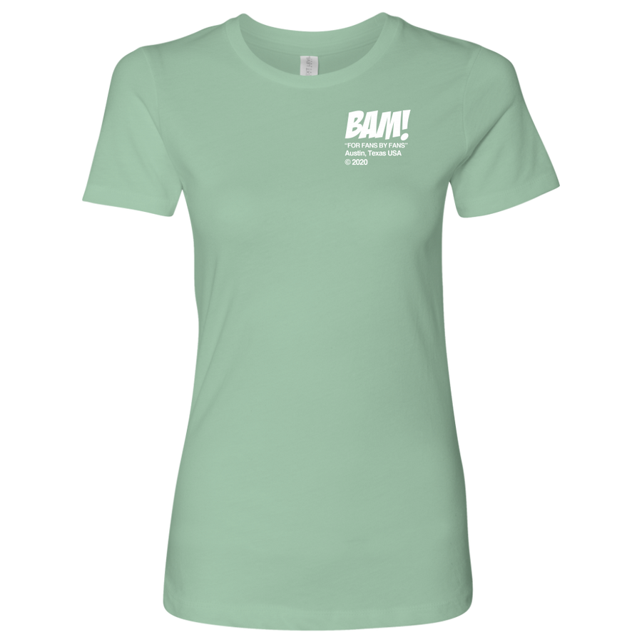 "BAM! ""Community"" Women's Shirt - White Logo"
