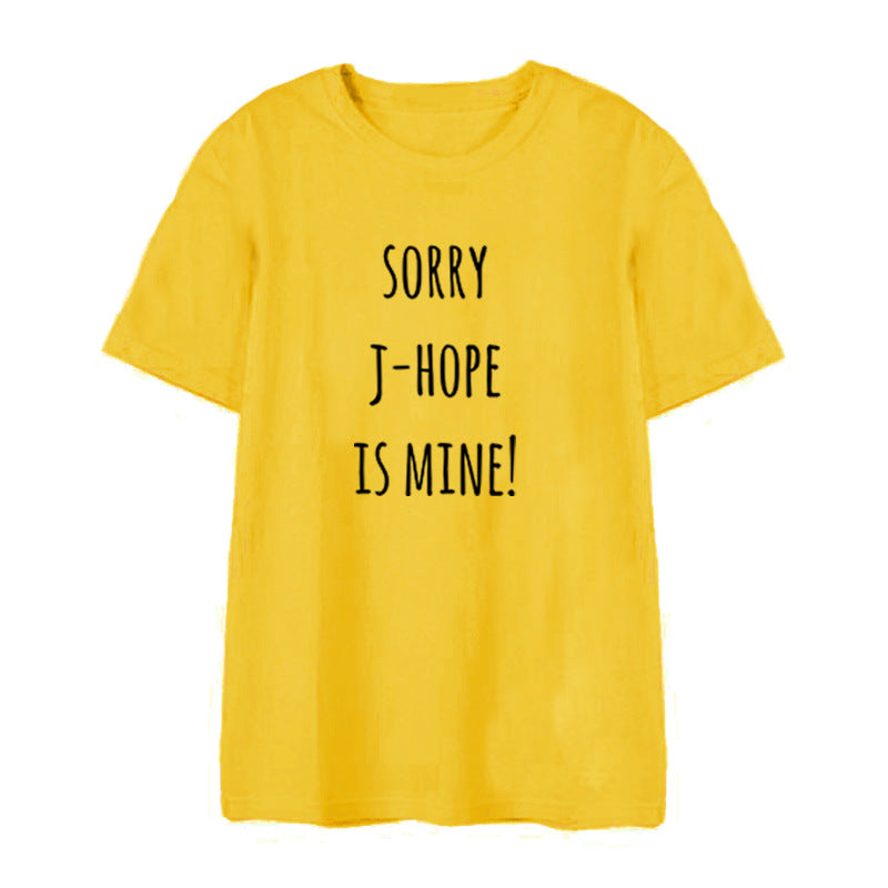 Sorry He's Mine BTS T-Shirt