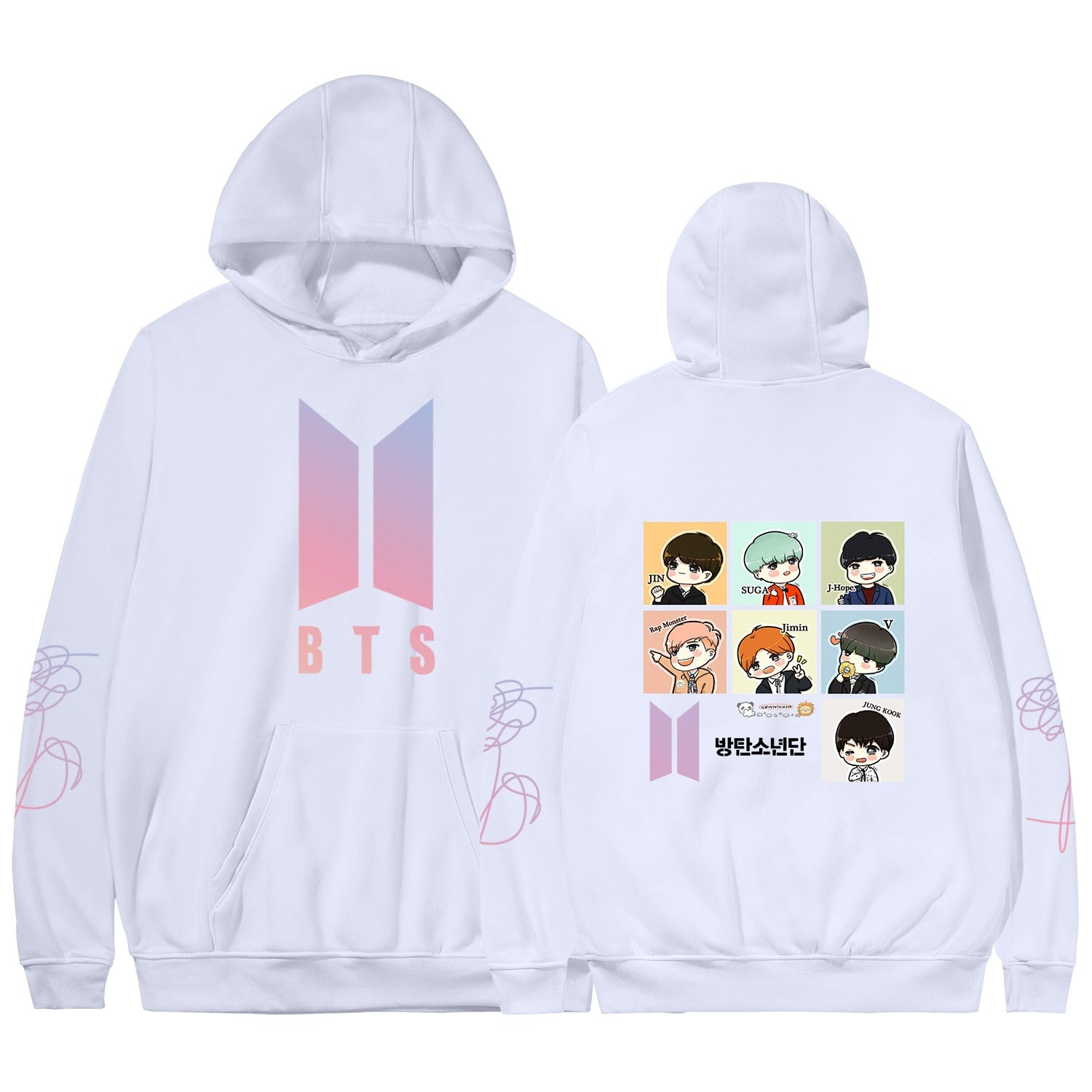 BTS Love Yourself World Tour Hoodie