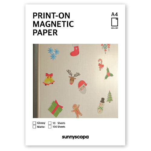 PRINT-ON MAGNETIC PAPER