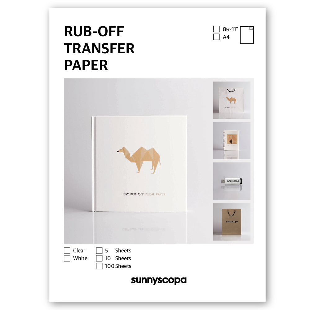 RUB-OFF TRANSFER PAPER