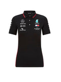 MERCEDES AMG PETRONAS REPLICA LADIES TEAM POLO SHIRT