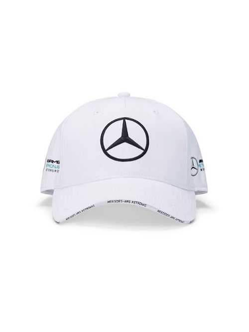 MERCEDES AMG PETRONAS REPLICA ADULTS TEAM CAP WHITE