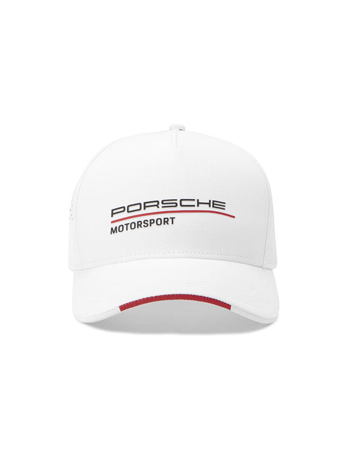 PORSCHE MOTORSPORT ADULTS BASEBALL CAP WHITE