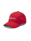 PORSCHE MOTORSPORT ADULTS BASEBALL CAP RED