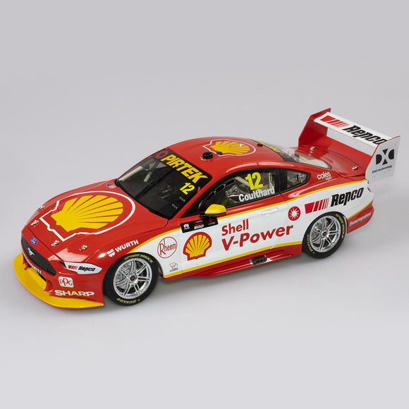 1:18 Shell V-Power Racing Team #12 Ford Mustang GT Supercar - 2019 Championship Season