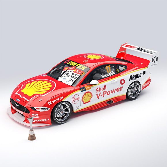 1:18 Shell V-Power Racing Team #17 Ford Mustang GT Supercar - 2019 Championship Winner (Pre-order)