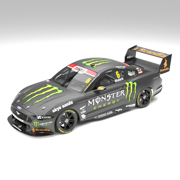 1:18 Monster Energy Racing #6 Ford Mustang GT Supercar - 2019 Championship Season: (Pre-order)