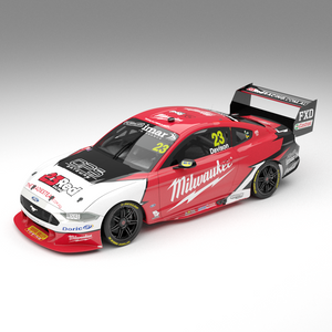 1:18 Milwaukee Racing #23 Ford Mustang GT Supercar - 2019 Championship Season: Pre-order