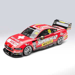 1:18 Supercheap Auto Racing #55 Ford Mustang GT Supercar - 2019 Sandown 500 Retro Round (Pre-order)