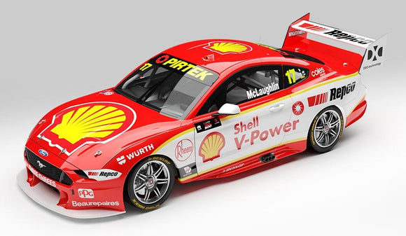 1:18 Shell V-Power Racing Team #17 Ford Mustang GT Supercar - 2020 Championship Season