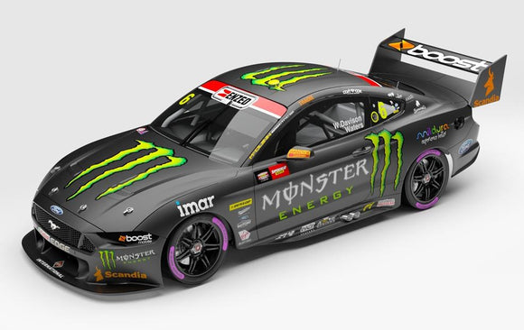 1:43 Monster Energy Racing #6 Ford Mustang GT Supercar - 2020 Bathurst 1000 Pole Position (Pre-order)
