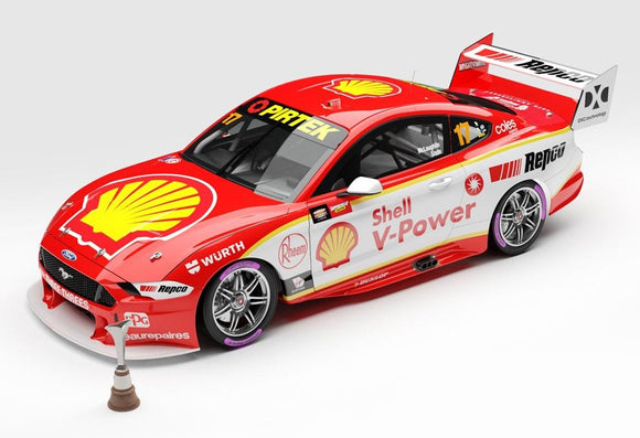 1:18 Shell V-Power Racing Team #17 Ford Mustang GT Supercar - 2020 Championship Winner (Pre-order)