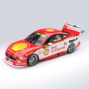 1:43 Shell V-Power Racing Team #17 Ford Mustang GT Supercar - 2019 Championship Winner (Pre-order)