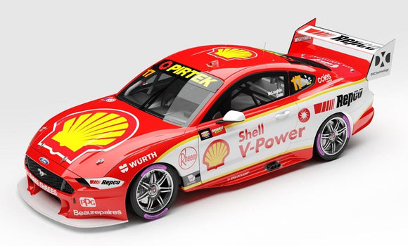 1:64 Shell V-Power Racing Team #17 Ford Mustang GT Supercar - 2020 Championship Winner (Pre-order)