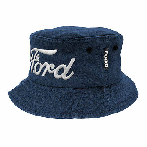 FORD 3D Embroidered Ford logo Bucket Hat