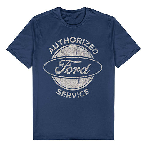 FORD AUTHORIZED SERVICE TEE - NAVY