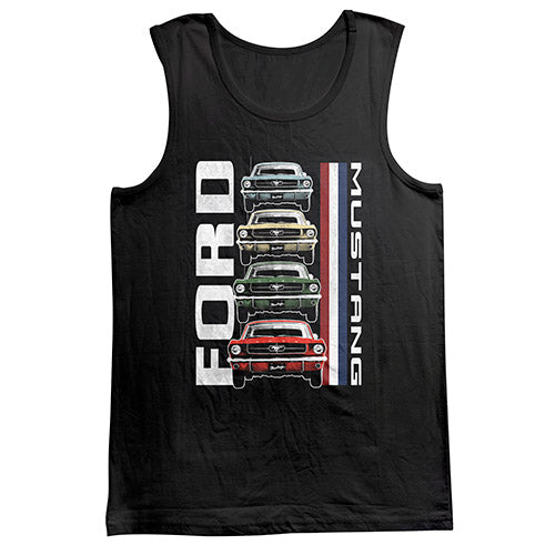 FORD MUSTANG CAR STACK TANK - BLACK
