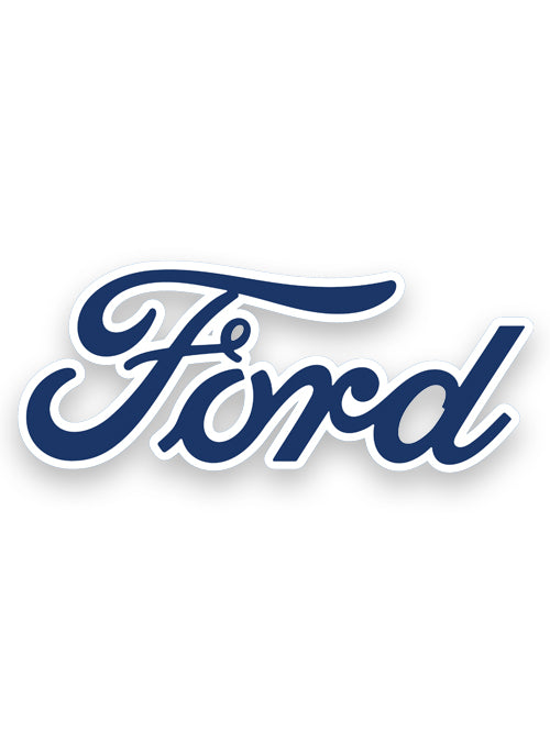 FORD SCRIPT DECAL