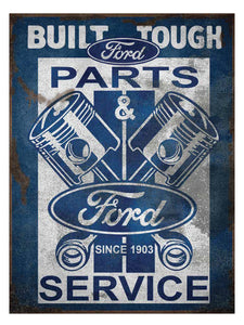 FORD VINTAGE TIN SIGN