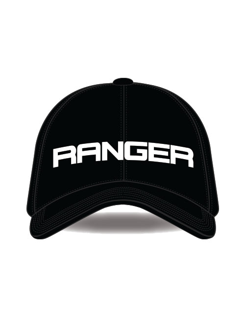 FORD RANGER ADULTS BASEBALL CAP BLACK