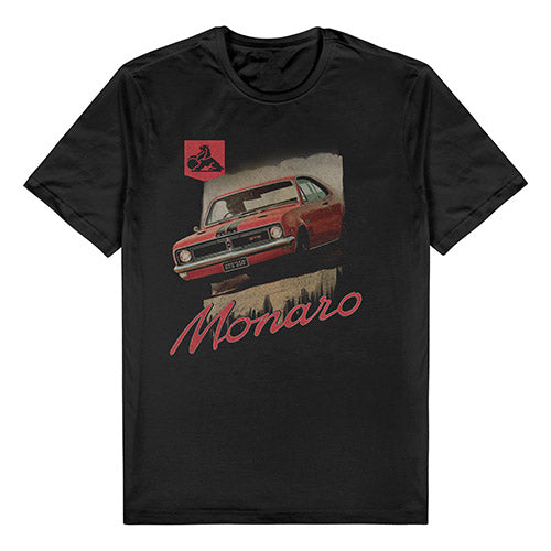 HOLDEN MONARO CAR TEE - BLACK