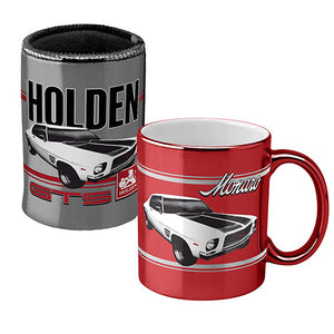 Holden Monaro Metallic Coffee Mug Cup and Can Cooler