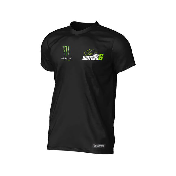 MONSTER CAM WATERS T-SHIRT BLACK