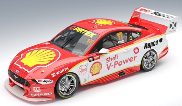 1:64 Shell V-Power Racing Team #17 Ford Mustang GT Supercar 2019 Bathurst Winner (Pre-order)
