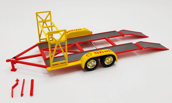 1:18 SHELL OIL RACING TRAILER - PRE-ORDER