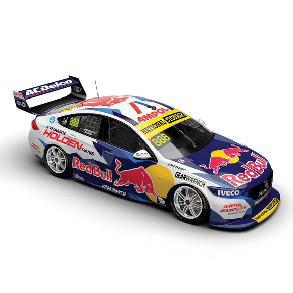 1:43 FINAL 2020 HOLDEN FACTORY SUPERCAR JAMIE WHINCUP / CRAIG LOWNDES: PRE-ORDER