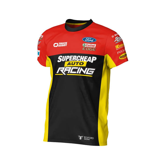 SUPERCHEAP AUTO RACING TEAM T-SHIRT MEN'S